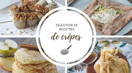 Sélection de recettes de crêpes chandeleur