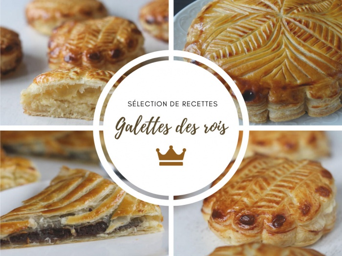Sélection de recettes de galettes des rois