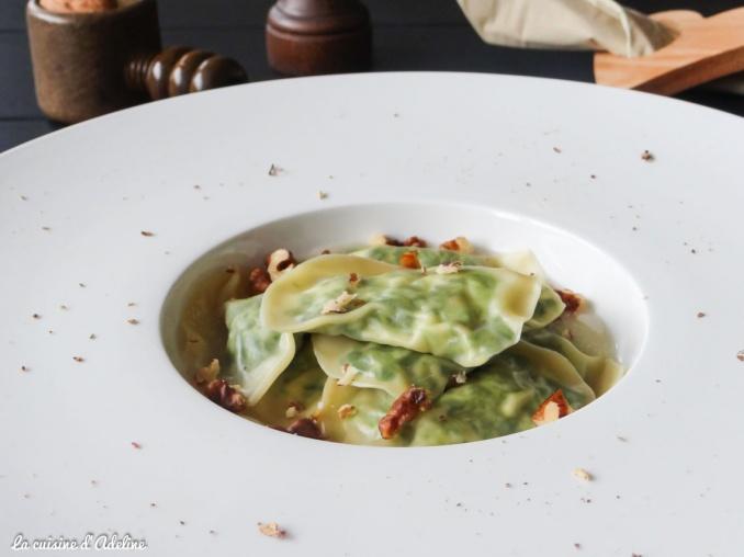 Ravioles épinard ricotta recette facile