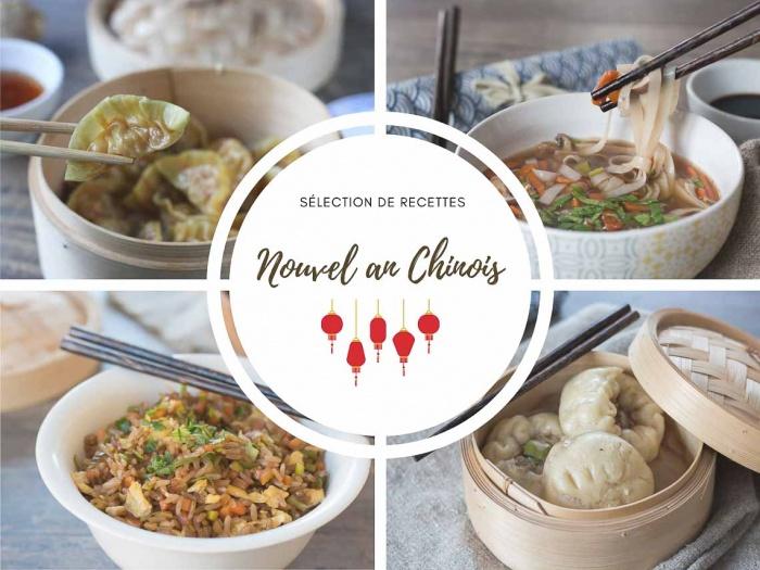 Nouvel an chinois : sélection de recettes asiatiques et chinoise
