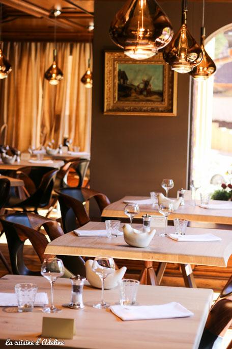 Restaurant La Chenaudière Colroy la Roche