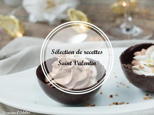 Sélection de recette St. Valentin
