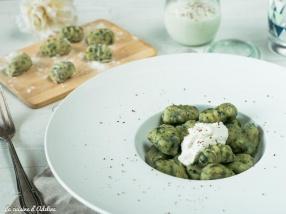 Gnocchis aux épinards maison recette facile