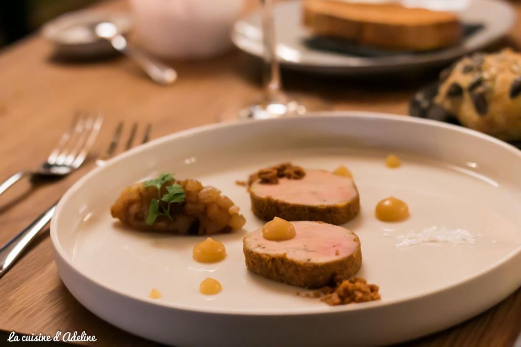 Foie gras - La Table du 5 Barr