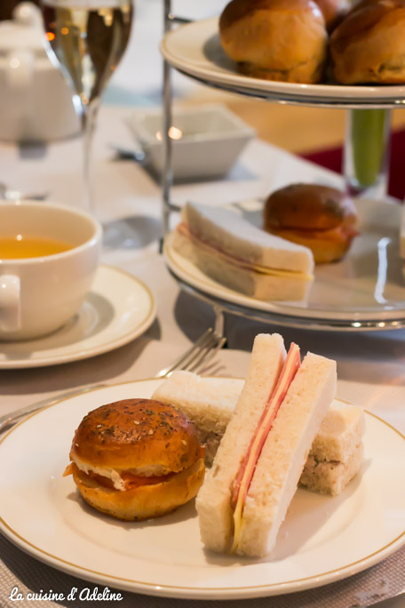 Afternoon Tea au bouclier d'Or Strasbourg - Club Sandwich