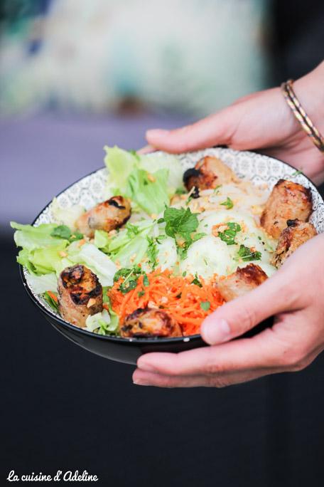 Bo bun vietnamien maison recette facile