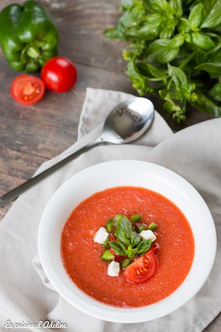 Gaspacho recette facile et rapide