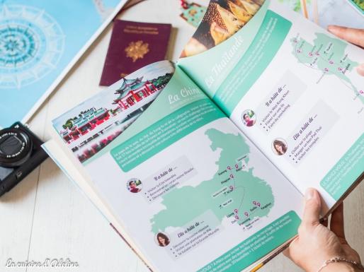 Ebook tour du monde itinéraire avec CEWE