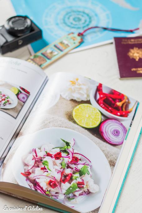 Ebook tour du monde recette avec CEWE