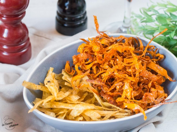 Chips de légumes maison recette