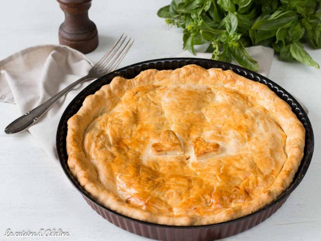 Meat pie - Tourte a la viande hachee