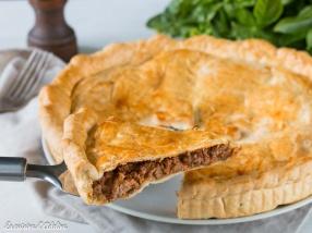 Meat pie - Tourte a la viande hachee recette Australie