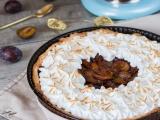 Tarte aux quetsches meringuée recette facile