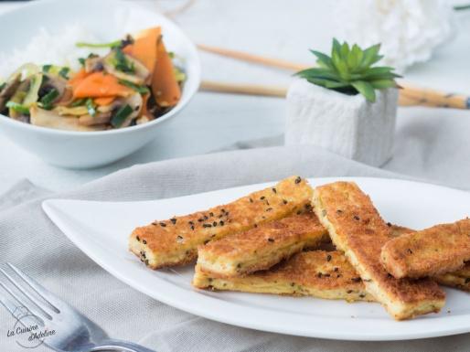 Tofu pané recette facile