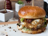 Blue Cheese and Bacon Burger recette