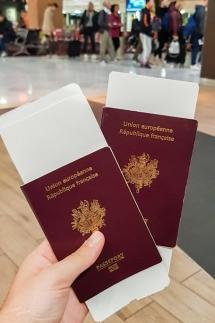 Départ pour le tour du monde - Passport