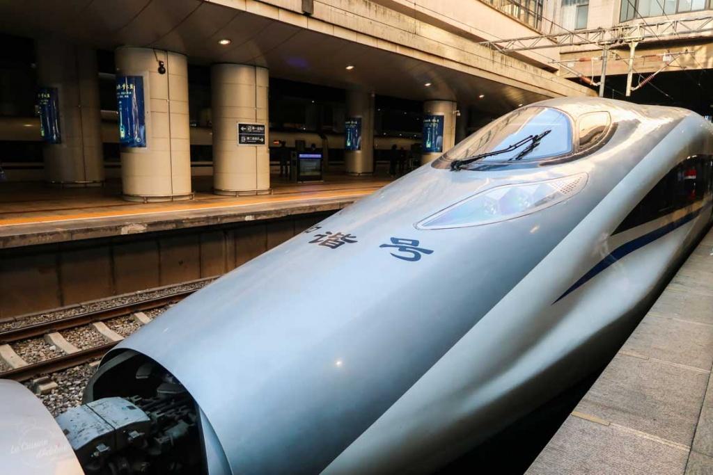 Train rapide Chine