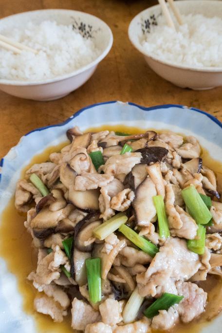 Lijiang déjeuner riz sauté