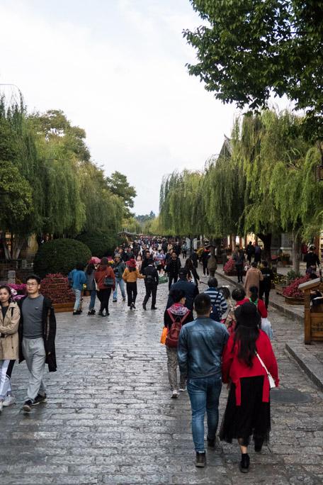 Lijiang ville touristique