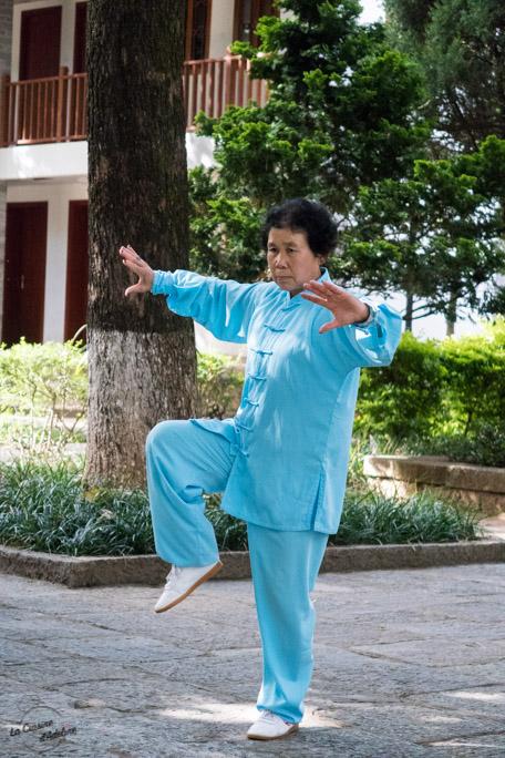 Mamie Tai Chi Dali Chine