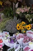 Marché fleurs Dali