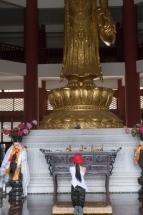 Prière Temple Dali Chine