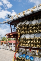 Prières trois pagodes Dali Chine