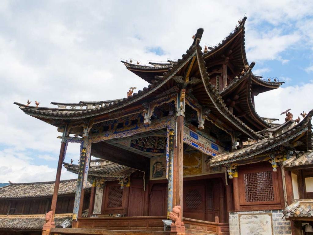 Shaxi ancien théatre
