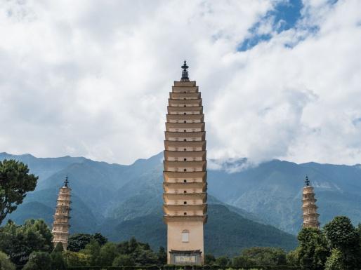 Trois pagodes Dali Chine visite