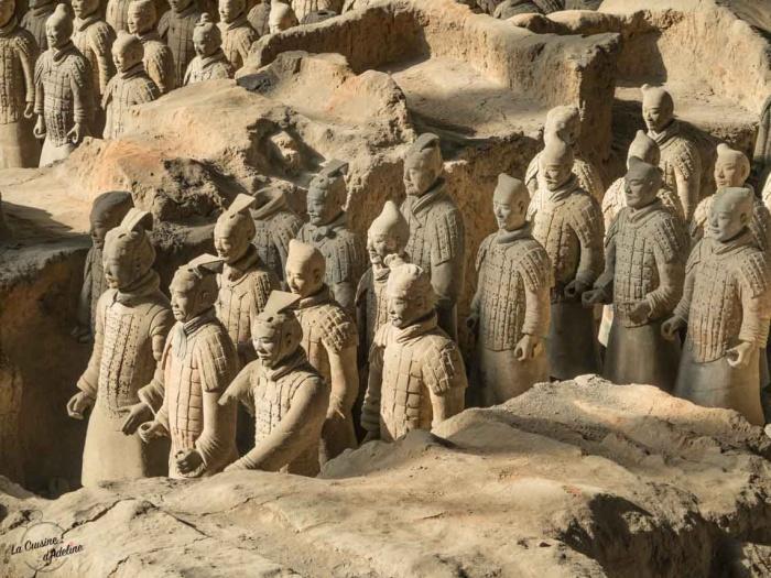 Armée de terre cuite Xian Chine visite