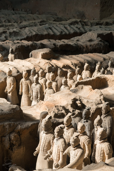 Armée de terre cuite Xian Chine