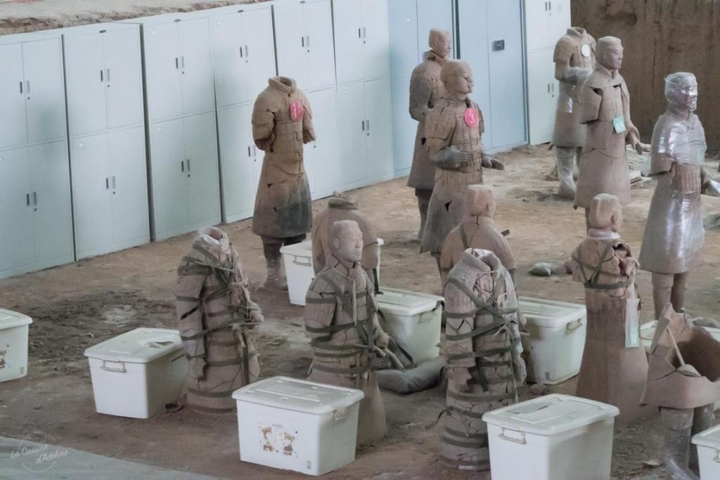 Armée de terre cuite Xian restauration