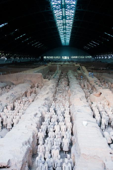 Armée de terre cuite Xian