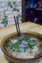Bouillon de nouilles fraîches Xian