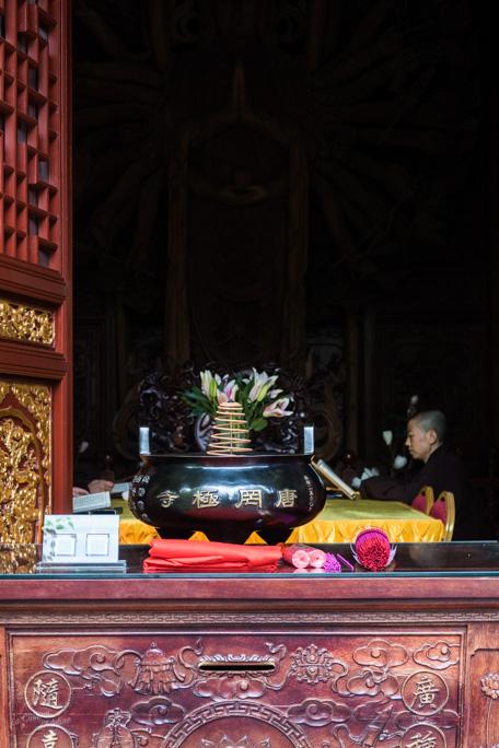 Cérémonie temple Xian
