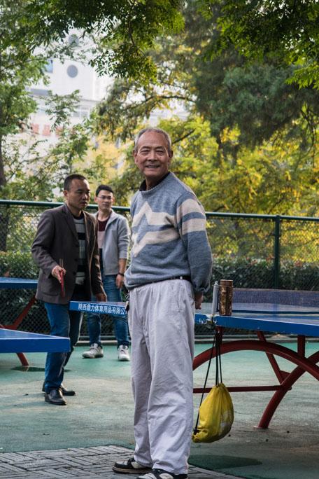 Papi sportif Xian