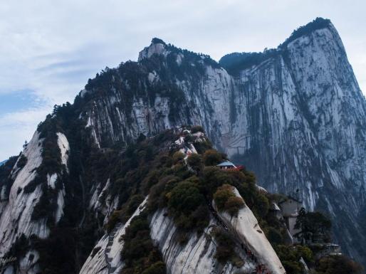 Randonnée Mont Hua Xian Chine - Parcours