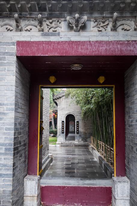 Visite temple Xian