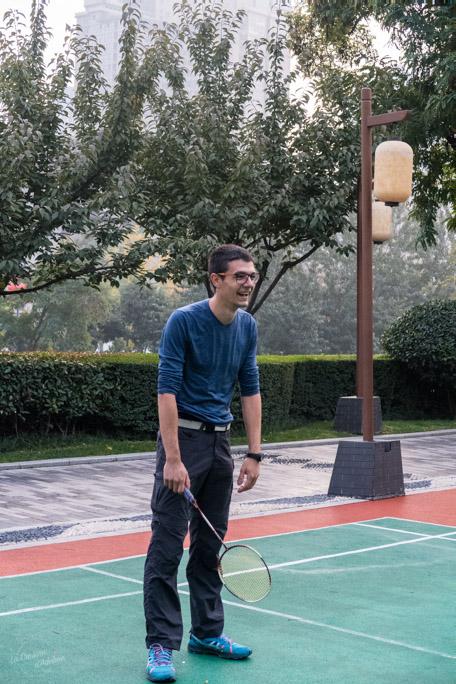 Xian visite parc