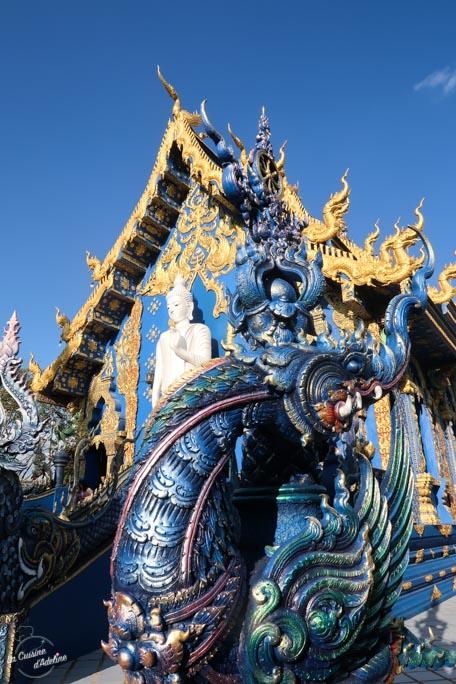 Blue temple Temple Bleu Chiang Rai Thailande