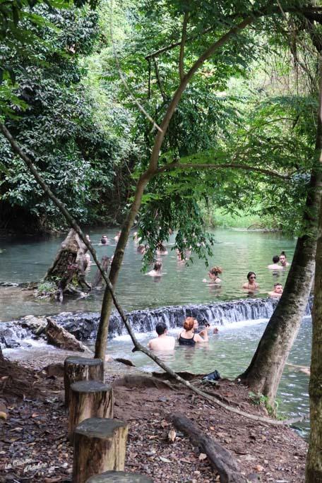 Sources eau chaude Paï Thailande