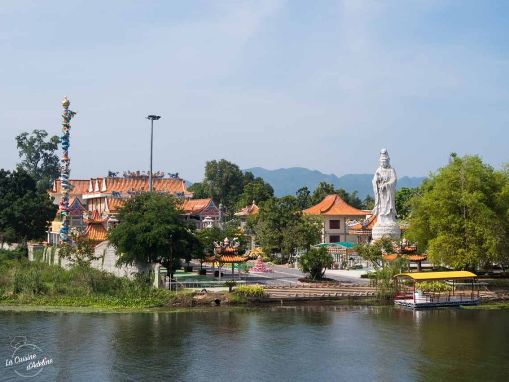 Temple Chinois Kanchanaburi Thailande