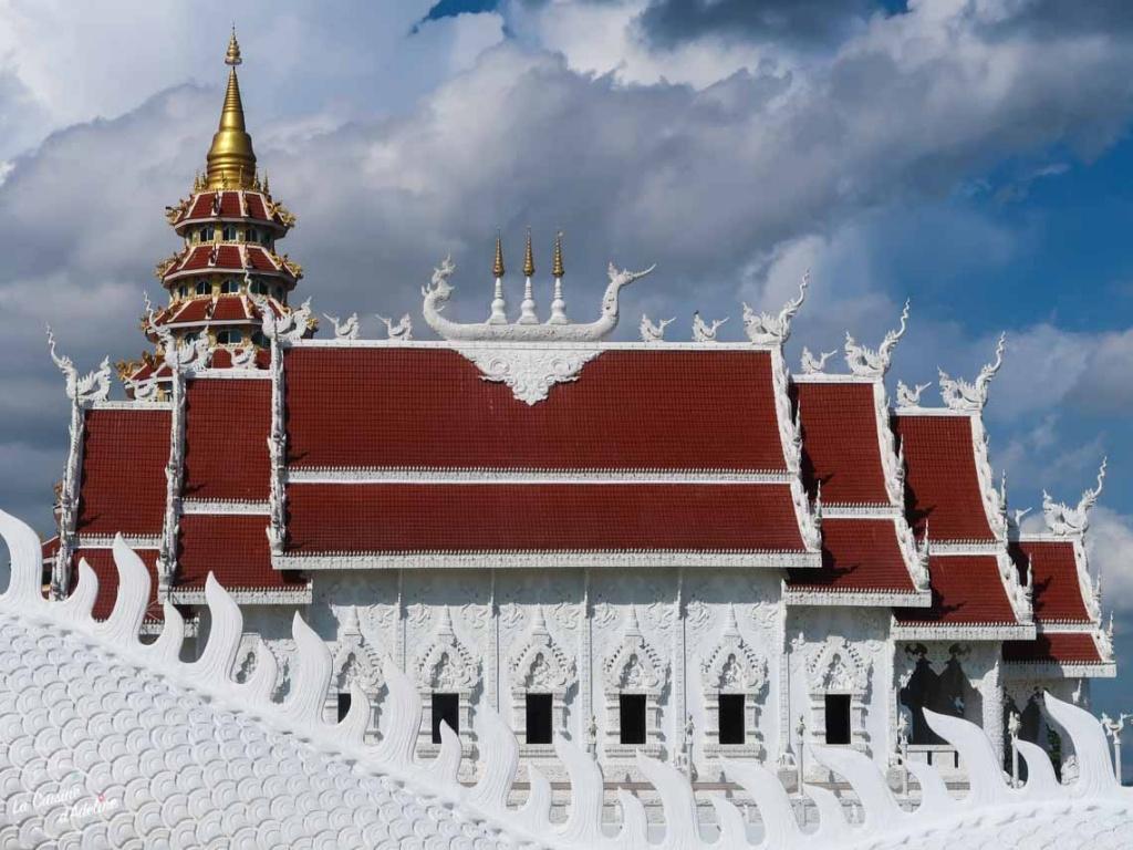 Temple Wat Huay Pla Kung Chiang Rai Thailande