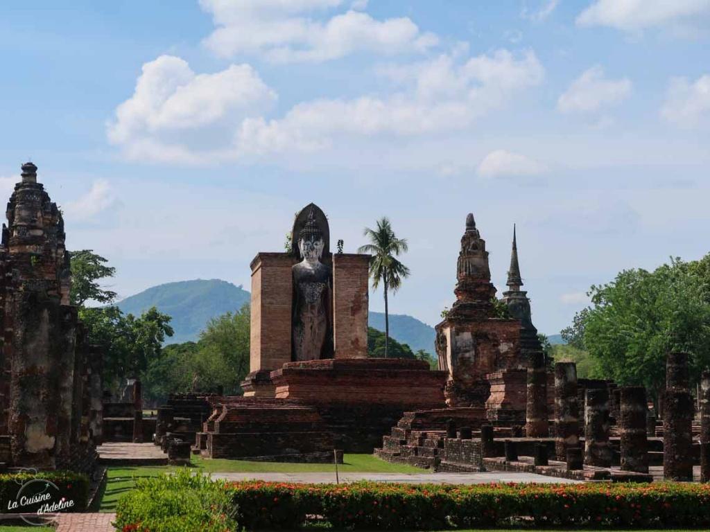 Temples ruines Sukothai
