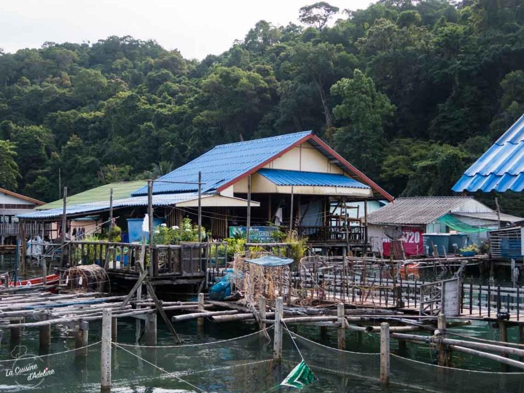 Village flottant Ao Nai Yang Koh Kood Thailande