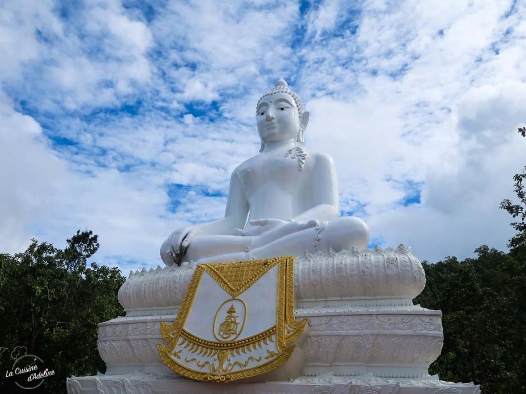 White bouddha Paï Thailande