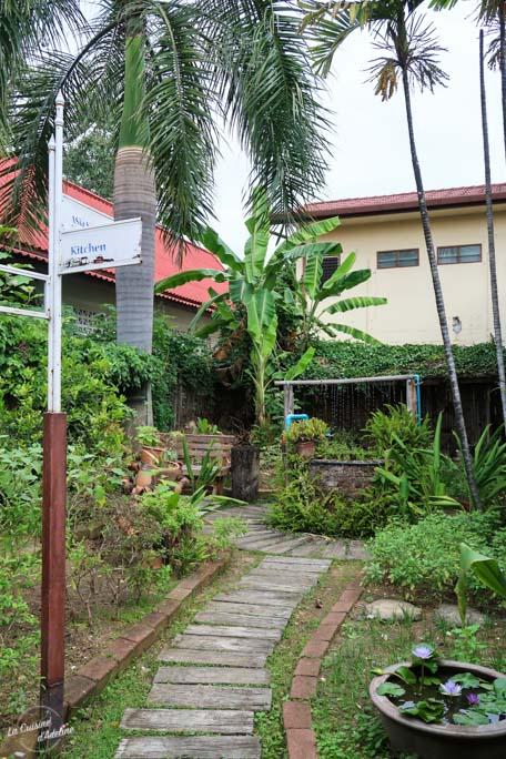 Asia Scenic Thai Cooking School jardin - Cours de cuisine Chiang Mai