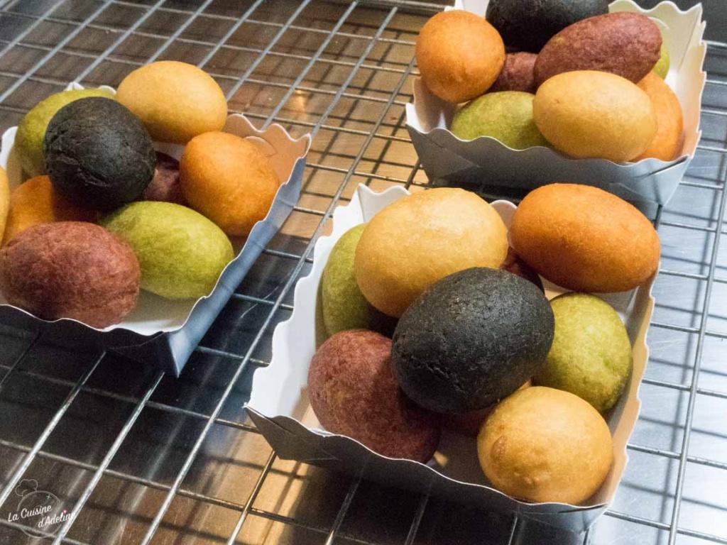 Beignet patate douce Thailande