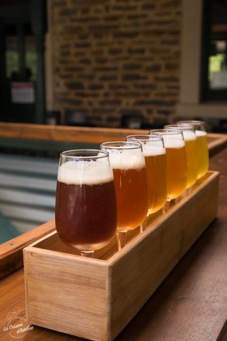 Bières du monde test