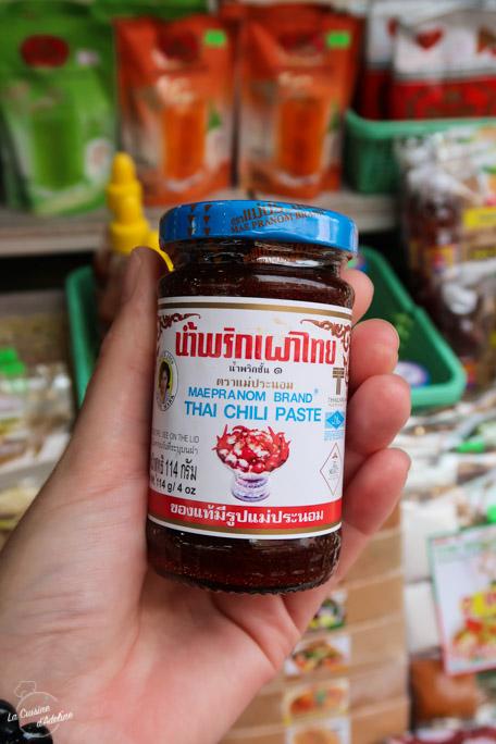Chili paste - Cours de cuisine Chiang Mai
